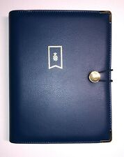 Emily Ley Planner Cover Binder Only Page Size 55 X 85 Navy Gold Pineapple