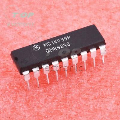 MC14499P 7-Segment LED-Anzeige Decodierer mit Serielle Schnittstelle DIP-18