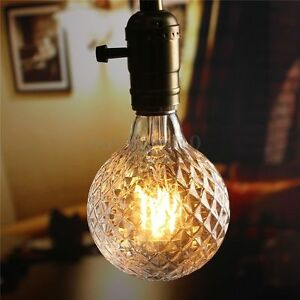 e27 edison 4w led cob globe vintage antik filament. Black Bedroom Furniture Sets. Home Design Ideas
