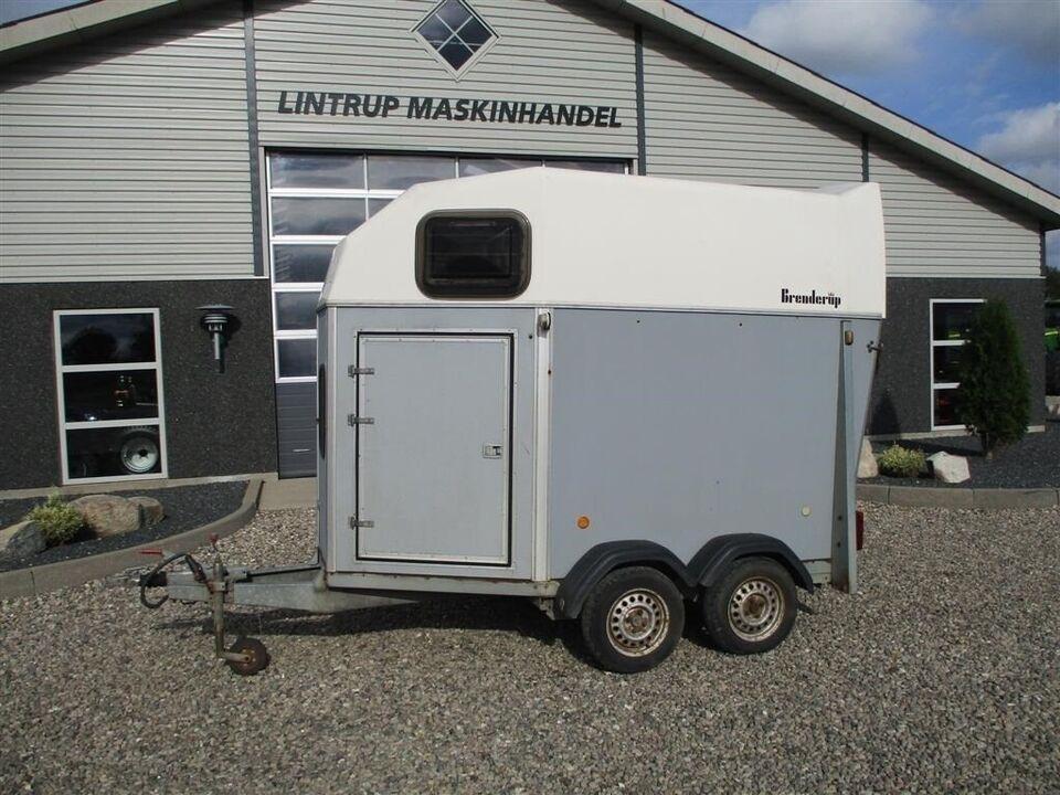 Trailer, Brenderup 33 K HESTETRAILER 1500 kg, lastevne