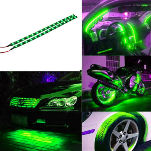 New Green Waterproof LED Lights For Boat Accent Kit Bright Strip Yacht Interior