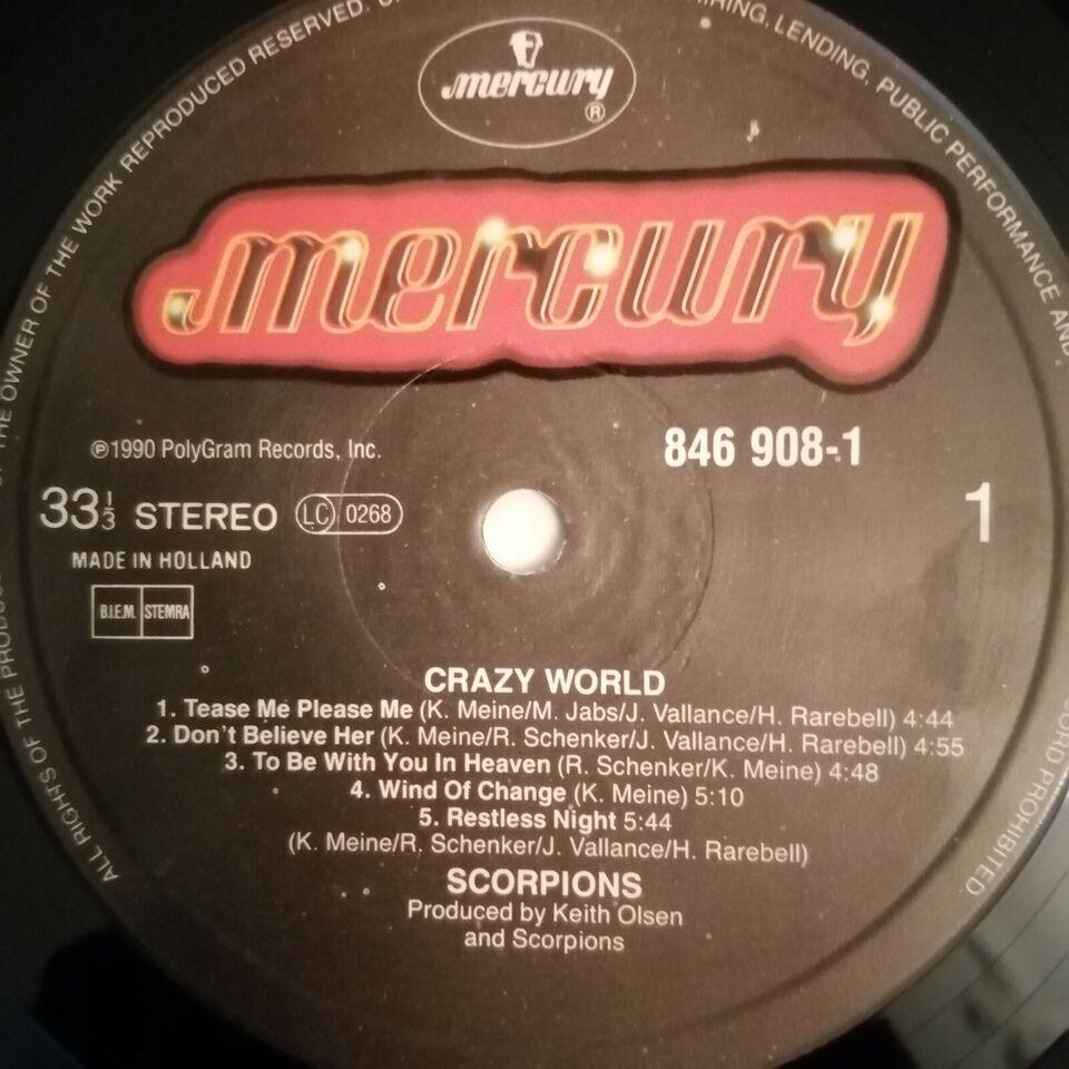 LP, Scorpions, Crazy World