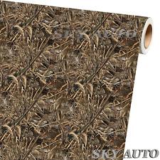 4ft X 5ft Long Grass Camouflage Matte Vinyl Car Wrap Film Sheet