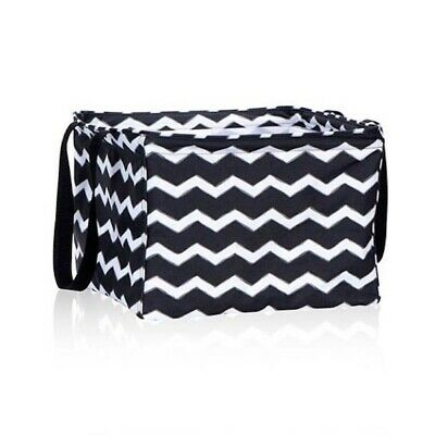 Thirty one Cool Clip Thermal Picnic pouch Bag in Chevron Squares 31 gift BN
