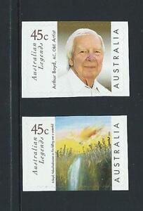 AUSTRALIA-1999-Arthur-Boyd-Self-Adhesive-039-Booklet-Stamp-039-Set-Mint-SG-1840-1841