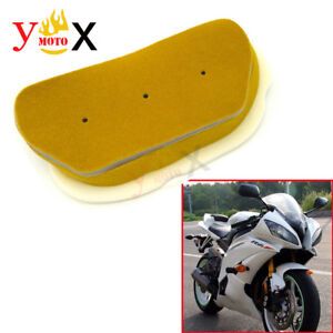 Motorcycle Parts New Air Filter Intake Cleaner Grid For Yamaha Yzf R6 1999 2002 Ebay