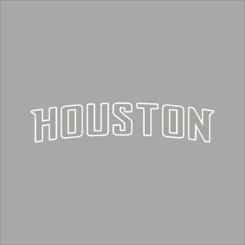 Houston Dynamo #2 MLS Team Logo 1 Color Vinyl Decal Sticker Car Window Wall