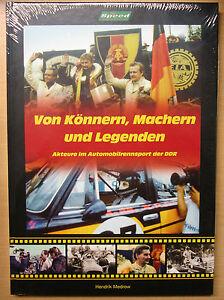 Von-Koennern-Machern-und-Legenden-Automobilrennsport-DDR-Rennsport-Rennen-Buch