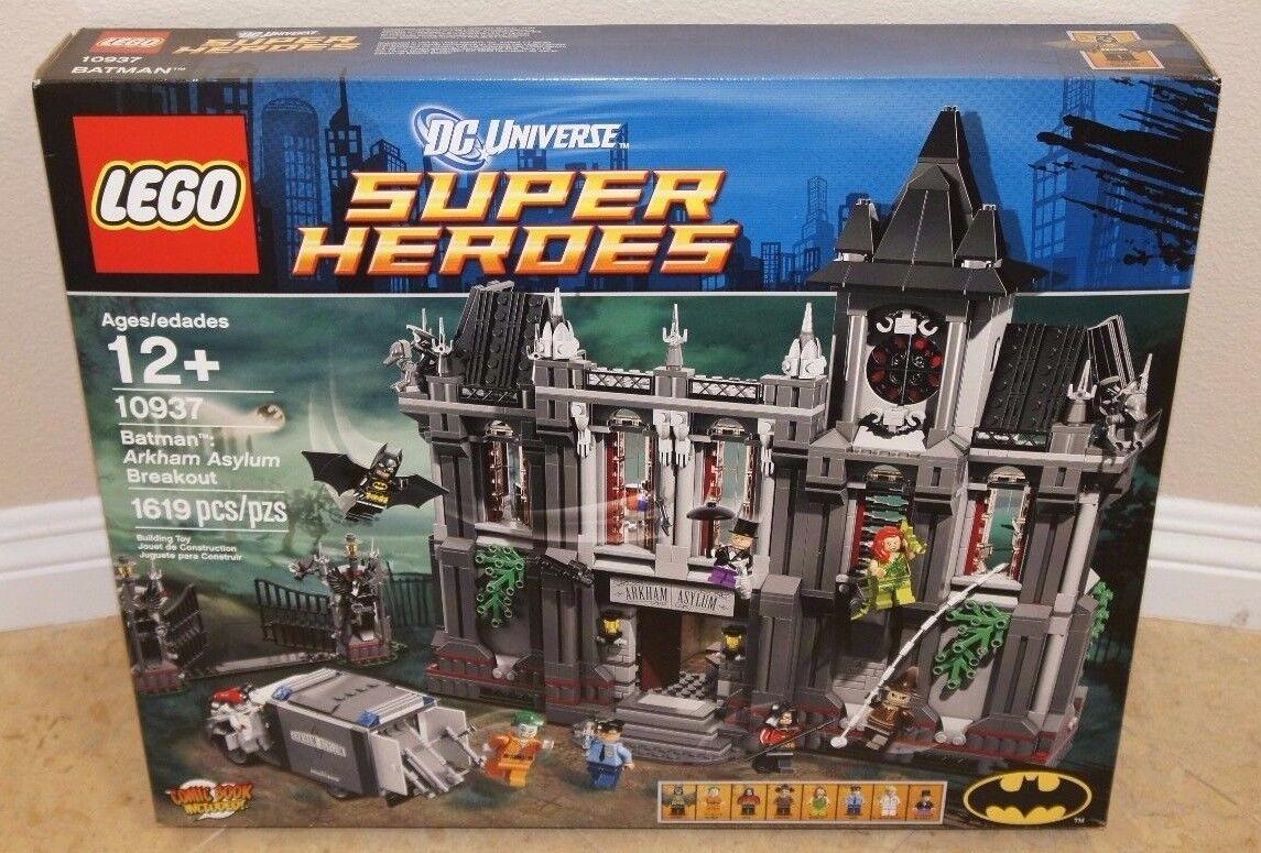 Lego 10937 Batman Arkham Asylum Breakout PSIM Sellado Guasón Pingüino Hiedra Venenosa