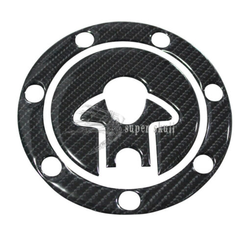 Real Carbon Fiber Fuel Gas Cap Cover Sticker decal for Kawasaki NINJA ZX9R ZX7R