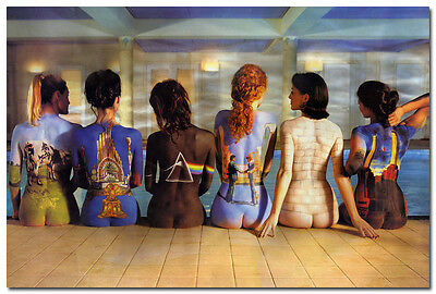 PINK FLOYD BACK CATALOG GIRLS GIANT Art Silk Poster 24x36 inch