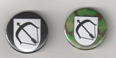 """Pins & Anstecknadeln Wh """"button"""" Wehrmacht/heer/infanterie Division/germany/wwii/camo Humor 50.inf.div"""