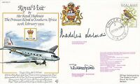 RV17cB HRH Princess Royal visit to Southern Africa. Special Double Signed .