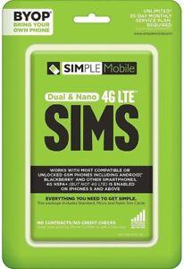 TracFone-Simple-Mobile-GSM-Sim-Bundle-N-Airtime-IL-PL1-1753-SMPBYOPGSVNA-NOB