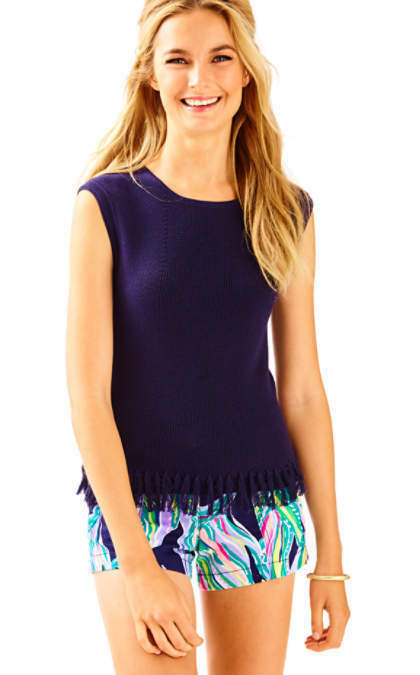 NWT Lilly Pulitzer Navy Wellington Sweater Size Size Size Small 4d13d8