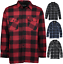 Men-039-s-Winter-Fleece-Flannel-Shirt-Plaid-Jacket-FREE-SHIPPING-Mason-amp-Co