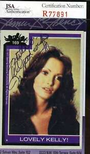 Jaclyn-Smith-Hand-Signed-Jsa-Topps-Charlies-Angels-Card-169-Autograph-Authentic