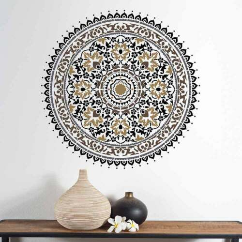 Mandala Stencil for Quick and Easy DIY Wall Art Mandala Stencil Kashmir