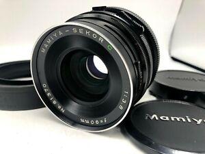 FedEx-NR-Nuovo-di-zecca-CON-PARALUCE-Mamiya-Sekor-C-90mm-f-3-8-per-RB67-RZ67-dal-Giappone