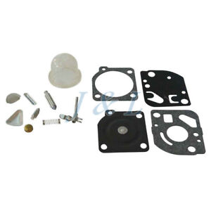 Carburetor-Rebuild-Kit-ForZama-RB-47-Poulan-WeedEater-trimmers-Blowers-C1Q-Carb
