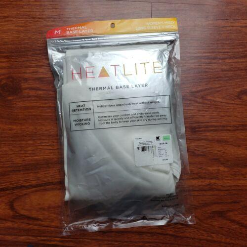 HeatLite Women/'s V Neck Thermal Base Layer Long Sleeve Shirt Top