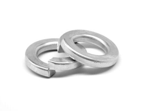 "1 1//8/"" Regular Split Lockwasher Medium Carbon Steel Zinc Plated"