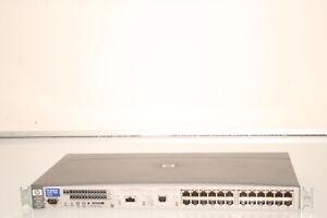 Hp procurve switch 2524 24 x 10/100 base-tx port j4813a.