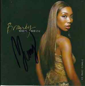 Brandy-signed-Who-is-She-to-You-cd-single