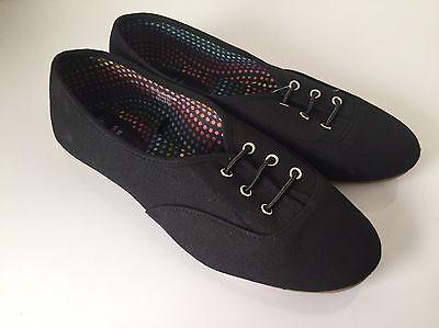 Zapatos planos señoras Negro Talla 5 Nuevo con etiquetas Envío Gratis