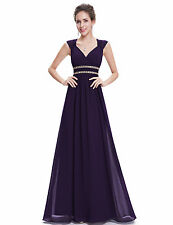 Ever Pretty Women's Elegant V-Neck Long Evening Dress