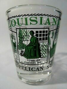 LOUISIANA-SCENERY-GREEN-CLASSIC-DESIGN-SHOT-GLASS-SHOTGLASS