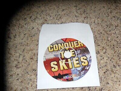 Gewijd Conquer The Skies (pc, 1997) Game Om Een Ongewoon Uiterlijk Zeker Te Stellen