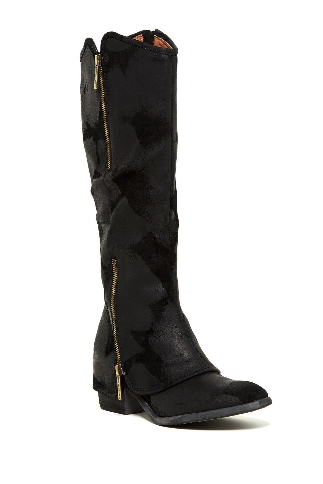 NEW Donald J Pliner Devi Antique nero Suede Tall avvio, donna Dimensione 5,  398