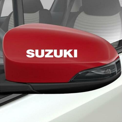 2 X Suzuki Außenspiegel Aufkleber Grafik Farbauswahl Schneller Versand