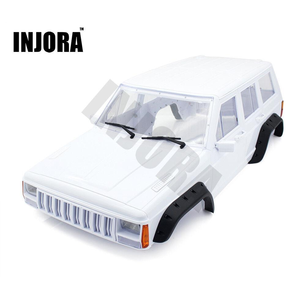 RC  auto in plastica ABS 313mm Cherokee Corpo Shell per 1 10 Axial SCX10 SCX10 II 90046  perfezionare