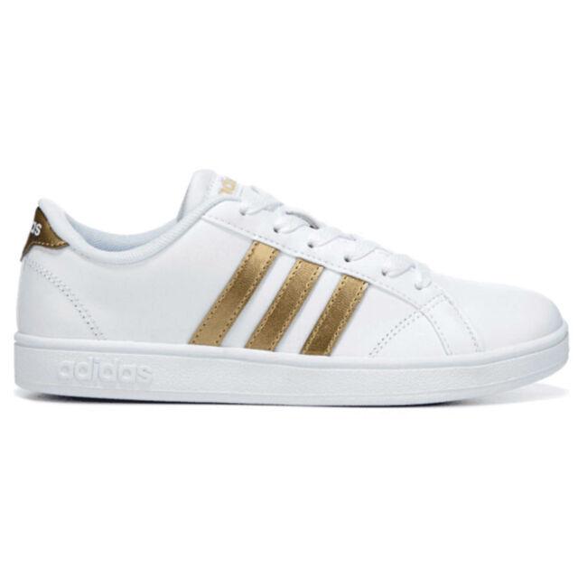 adidas Baseline K White/gold Court