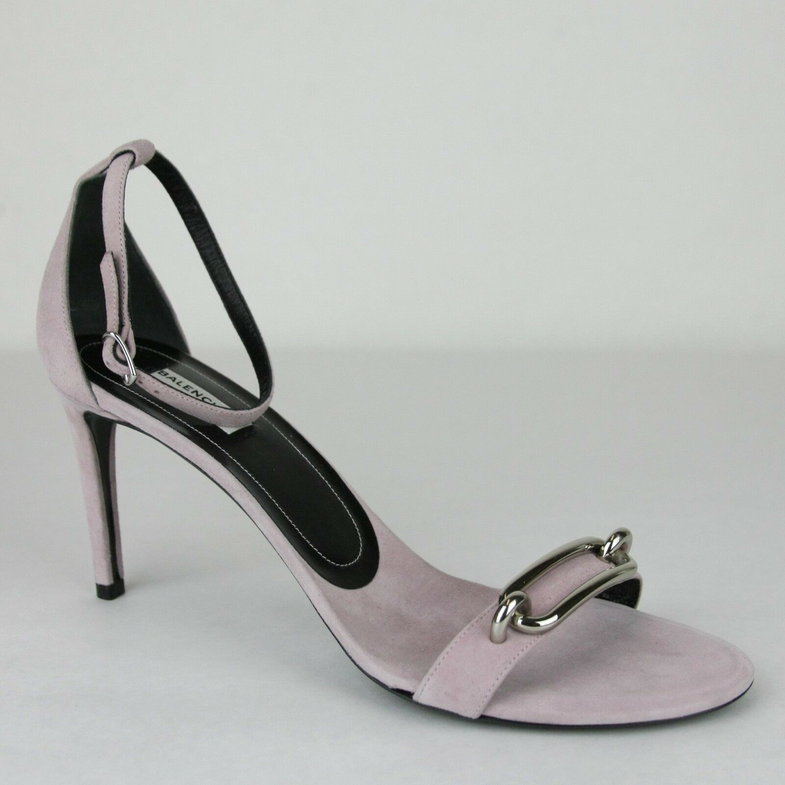 795 Balenciaga Women's purplec Suede Heel with Silver Bar 41 US 11 363500 7606