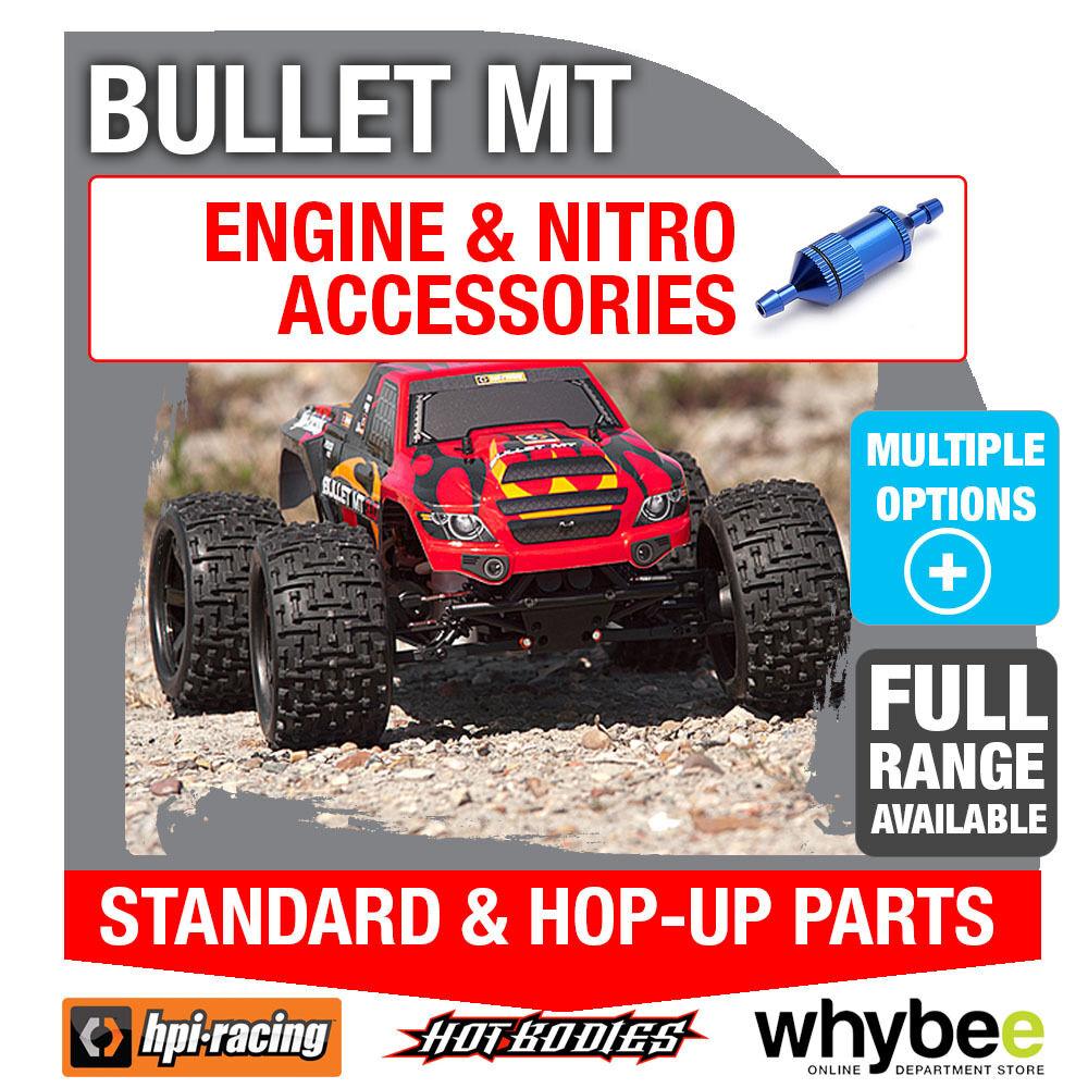 HPI BULLET MT [All Engine Parts] Genuine HPi Racing R C Standard & Hop-Up Parts