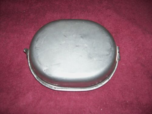 ORIG.GI  MILITARY STAINLESS STEEL MESS KIT DATED 1982