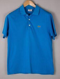 LACOSTE SPORT Hommes Décontracté Col Polo T-Shirt TAILLE S (3) BCZ707