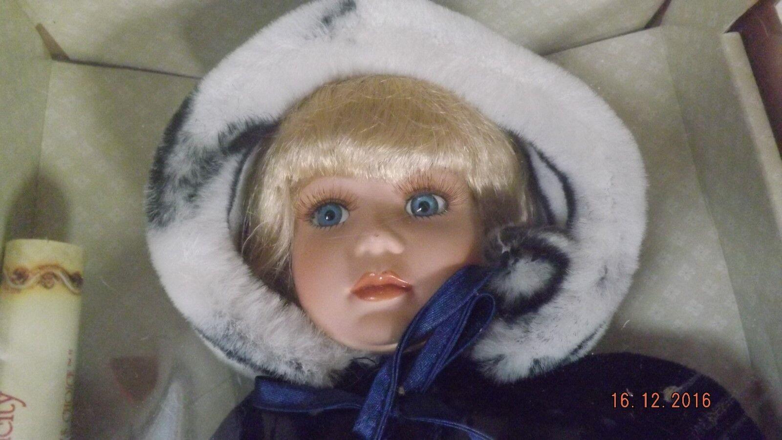 Art Dolls-ooak Dolls Top Zustand Generous Künstlerpuppe Porzellan Puppe 36 Cm