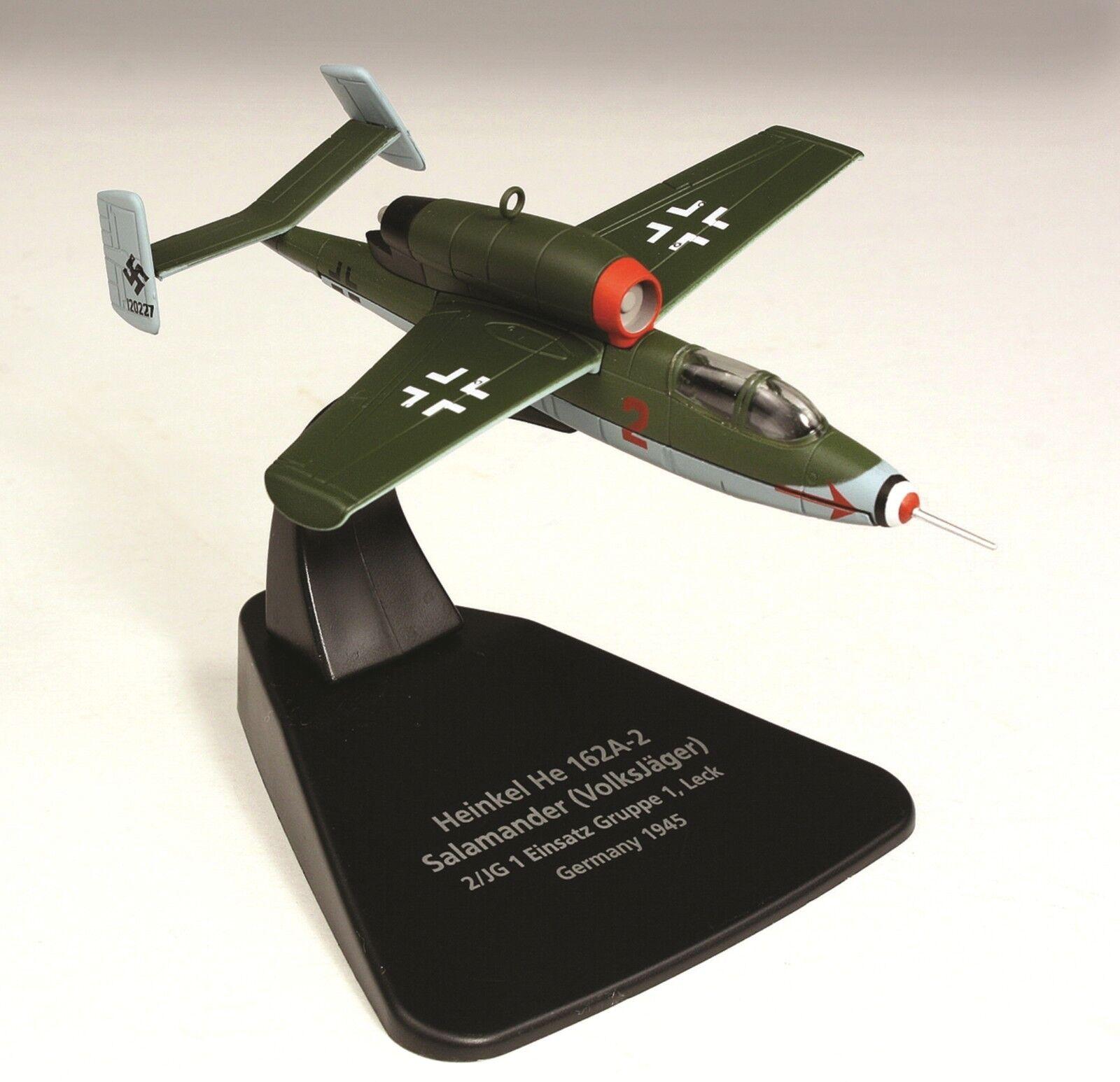 Oxford 1 72 Heinkel He 162 Salamander Luftwaffe II JG 1 Germany 1945 AC019