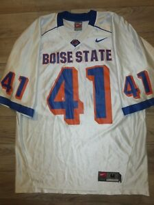 online store dcb67 ca9c1 Details about Ian Johnson #41 Boise State Broncos Football nike Jersey M  Medium mens