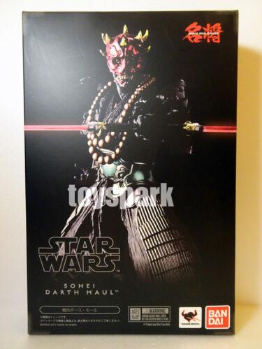 JAPAN BANDAI Meishou Movie Realization Star Wars Priest SOHEI DARTH MAUL figure