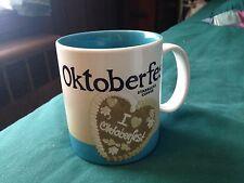 Starbucks City Mug Icon Oktoberfest 2 2014 Germany with SKU