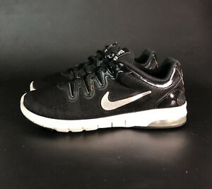 Details about Nike Air Max Fusion Running Shoes Women's Sz 7.5 Black White Grey 555161 007