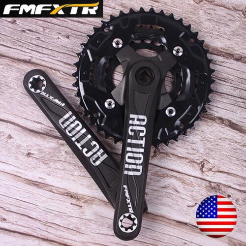 FMFXTR 24//32//42t 3X10 Triple Speed 104//64bcd MTB Bike Crankset Crank Chainring
