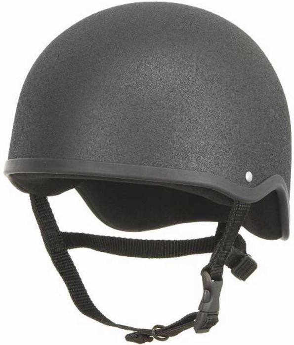 Champion Junior Plus cráneo casquillo en negro disponible en todos los tamaños