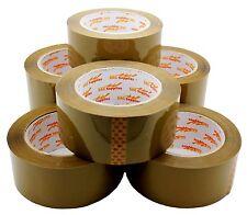 Lot 6 12 3 Brown Tan Clear Packing Carton Sealing Packaging Tape 2 110 Yds 330