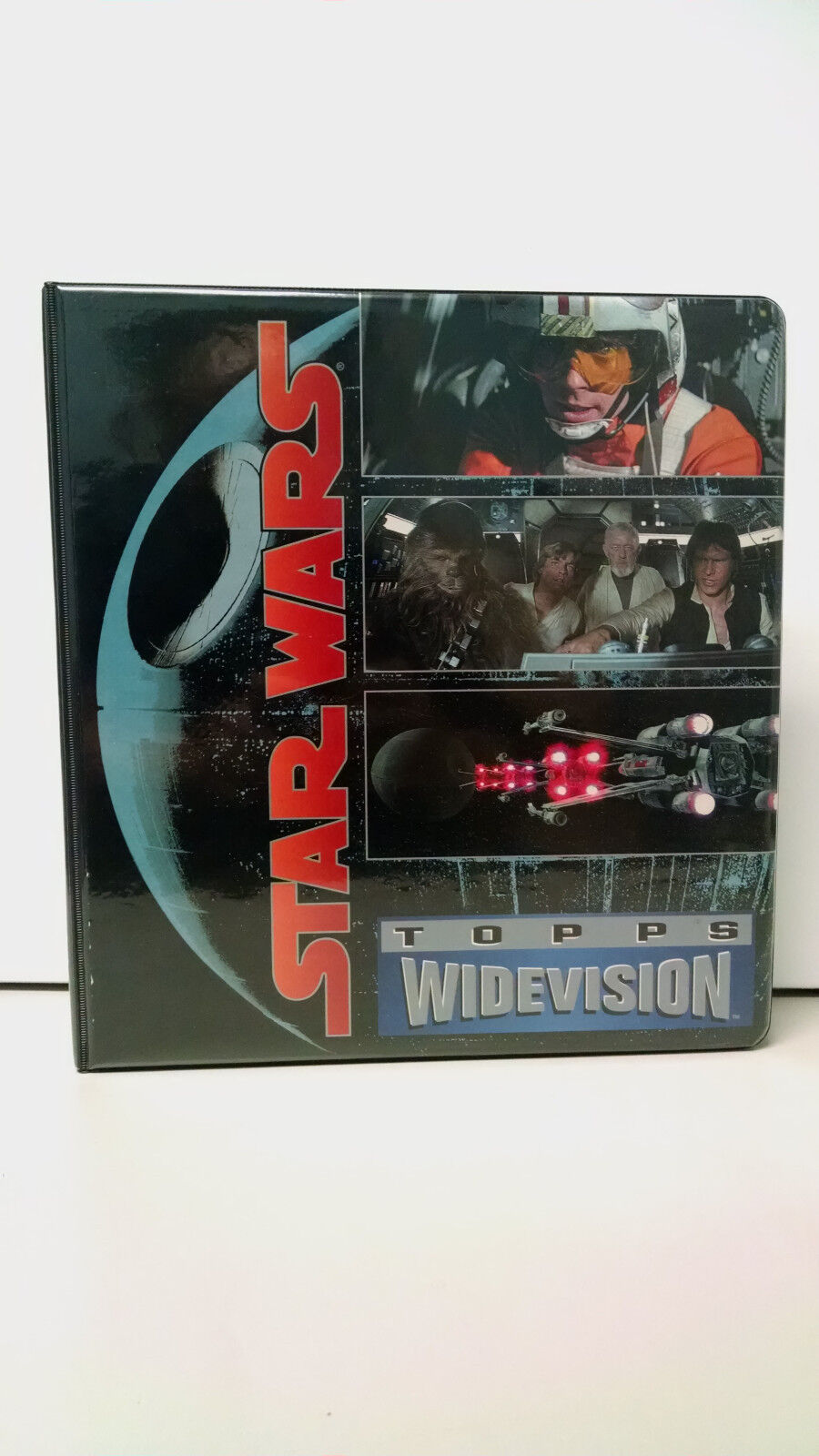 Star Wars Topps Topps Topps Widevision Cards Complete set with binder 1994 0cc26d